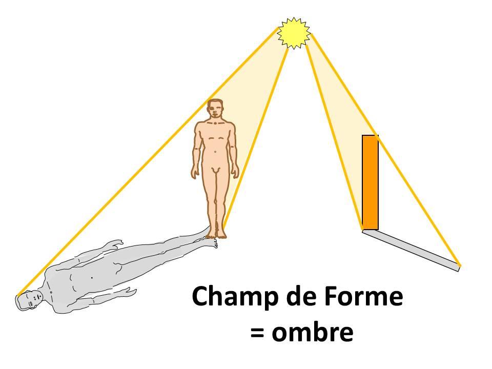 Champ de forme = ombre